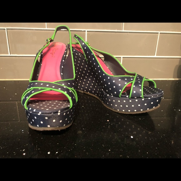 Lilly Pulitzer Shoes - Lilly Pulitzer Picture Perfect Espadrille Navy